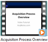 Acquisition Process Overview